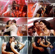 Katrina Kaif and Hrithik Roshan in Bang Bang title song