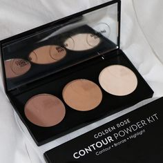 golden rose cosmetics countour palette powder