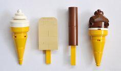 Lego ices.