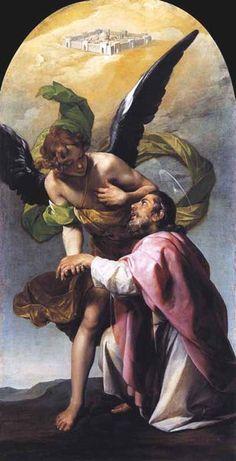Видение святого Иоанна Богослова в Иерусалиме. 1636-1637 Алонсо Кано.