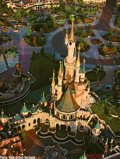 Disneyland Paris from above