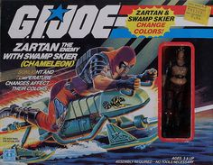 Toy from the 80's. This was one of my favorite GI joe guys, the dude turned blue in the sun!