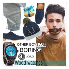 """""""JORD-Wood watches"""" by teoecar on Polyvore featuring Toast, Armani Jeans and jord"""