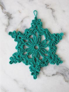 6 SNOWFLAKE PATTERNS TO CROCHET | Little Things Blogged | Bloglovin'