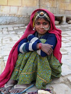 by Evgeni Zotov, in Jaisalmer, Rajasthan, India.