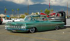 The Camino. Down Low on Air, is it a car, is it a truck, Late Wires or Astro Supremes. Hot Rod Trucks, Cool Trucks, Chevy Trucks, Cool Cars, Gm Trucks, Pickup Trucks, Custom Trucks, Custom Cars, Classic Trucks