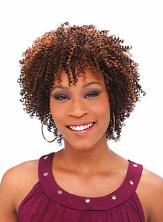 Very tight curly for black women hairstyle