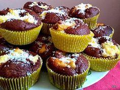 Kókuszos, kakaós muffin, ellenállhatatlan édes apró finomság, ami megunhatatlan!