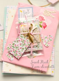 Snail mail from Elizabeth♥ | Ishtar Olivera