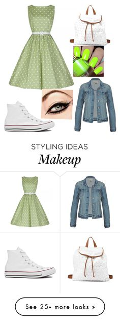 """""""I'll Spread My Wings and I'll Learn How to Fly"""" by sparkle44 on Polyvore featuring Charlotte Russe and Converse"""