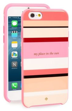 kate spade new york my place in the sun iPhone 6/6s case available at #Nordstrom