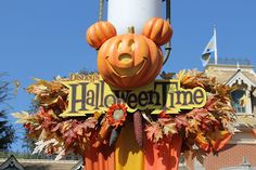 Halloween at Disneyland Picture Collage