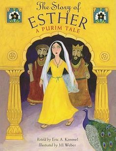 The Story of Esther: A Purim Tale by Eric A. Kimmel 394.267 KIM Retells the biblical story of how Esther, a Jewish woman, became queen of Persia and convinced the king to change the law persecuting Jews.
