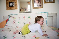 simple quilt... cute baby ;)