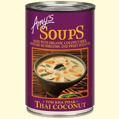 Amys soup. I can not speak highly enough of these soups.so GOOD.:)