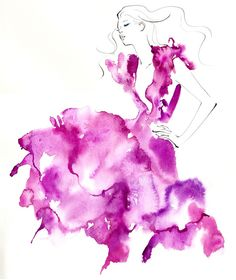 Yoco Nagamiya fashion illustration