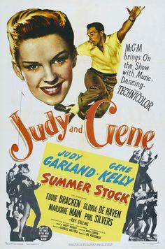 Summer Stock (1950) - Br: Casa, Comida e Carinho. A cena do celeiro, com Gene Kelly solando com uma folha de jornal vale o filme todo...(SG)