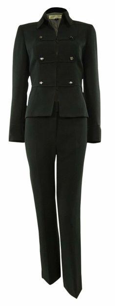 ce97cb0b90f Tahari Arthur S. Levine Women s Business Suit Military Jacket  amp  Pant  Suit ( 179.99