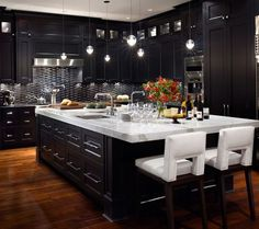 Kitchen Design Black Cabinets some great kitchen ideas for you to consider | family kitchen