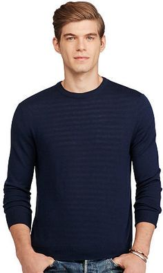 Please click on the picture to go to the detail page.  Polo Ralph Lauren Cashmere Crewneck Sweater