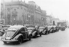 Berlin 1939 Propaganda Prozession Kraft durch Freude Wagen,Unter den Linden
