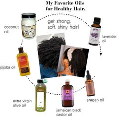 """""""oils natural hair"""" by beauty-ishername"""