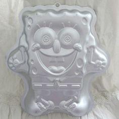 SpongeBob SquarePants cake tin pan in aluminum Large cake pan to make a Sponge Bob Square Pants cake Novelty cake or maybe a party jelly