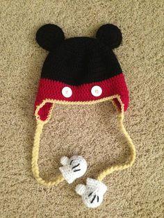 mickey mouse ganchillo - Buscar con Google