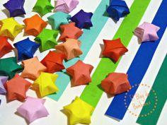 Lucky stars. Estrellas de la suerte - Origami