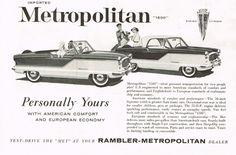 1960 AMC Metropolitan 1500 ad