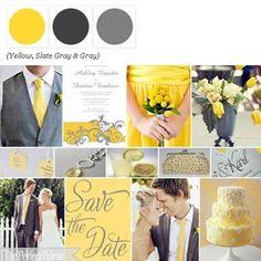 Yellow + Shades of Gray