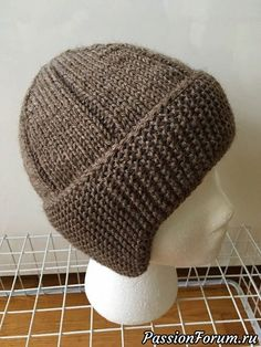 The construction of this hat was inspired by one pictured in a magazine published around Knitting the headband side to side provides a double layer of garter stitch to keep the ears warm, and allows for easy shaping of the earflaps. The edges of the Baby Knitting Patterns, Knitting Blogs, Easy Knitting, Loom Knitting, Knitting Stitches, Knitting Projects, Knit Or Crochet, Crochet Hats, Knitting Accessories