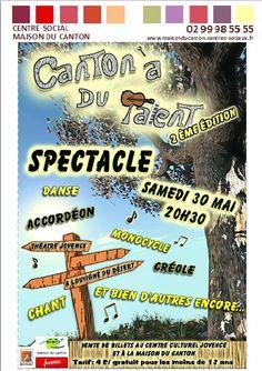 C'est samedi 30 mai à 20h30 pour retrouver les différents talents du canton...