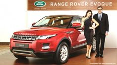 Jaguar Land Rover introduces the locally manufactured Range Rover Evoque in India