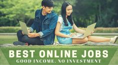 These online jobs from home can pay you excellent income in part time. 560,000 members. Easy to Earn Money without investment. Start All Online Job Now in