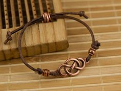For Infinity Bracelet, featuring TierraCast Infinity Link and 4x2 Deco Barrel bead.