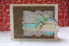 Oh my! This is one of the sets I may shed a few tears over. So beautiful and such a versatile set to use on any card. I love that bird in this set too. The good news is that I inked this stamp set