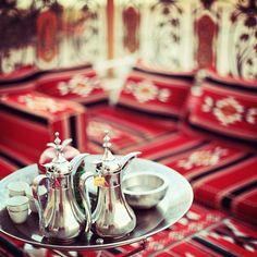 Flickr Saudi Arabia Culture, Qatar Travel, Palestinian Food, Castle Gate, Arabic Coffee, Tea Culture, My Coffee, Tea Time, Traditional