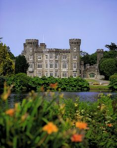 Johnstown Castle Co Wexford Ireland Century Gothic Revival Canvas Art - The Irish Image Collection Design Pics x Ireland Vacation, Ireland Travel, Wexford Ireland, Irish Images, Kirchen, Great Britain, Places To See, Beautiful Places, Beautiful Castles