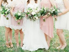 all different bridesmaids dresses