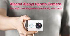 Original XiaoMi Yi 1080P Ambarella A7LS WIFI Sports Action Camera