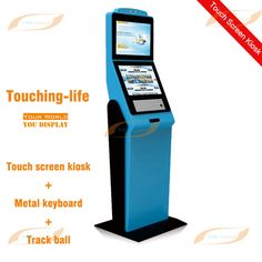Indoor Floor standing touch screen kiosk(self-service inquiry kiosk)---Dual screens---Android or Windows PC solution available/Shenzhen Creworld Technology Co.,Ltd