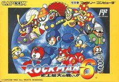 Brand-New! CAPCOM Rockman 6 / Mega Man Nintendo Famicom FC Import Japan 875