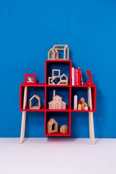 Broomstick-Inspired Shelving - The LivingBlock Collection by Antonio Serrano…