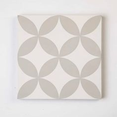 Cirque's simple geometry and symmetry create a beautiful pattern that works well in a variety of different settings. The compact scale is perfect in smaller spaces. Encaustic Tile, Handmade Tiles, White Wolf, Epoch, Color Shades, Beautiful Patterns, Cement, Geometry, Classic Style
