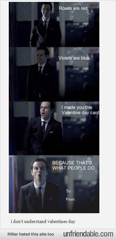 THAT'S WHAT PEOPLE DO with valentine's cards