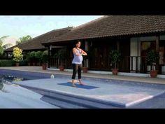 Prenatal Yoga Routine - Lara Dutta - YouTube