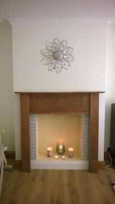 Cast iron fireplace rescued from a skip! | Bedroom fireplace ...