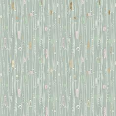 PINK BATH: Bradbury Bradbury Googieland in Turquoise wall paper for pink bathroom, also comes in a gray pattern