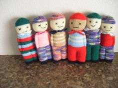 Here are a few comfort dolls (K)